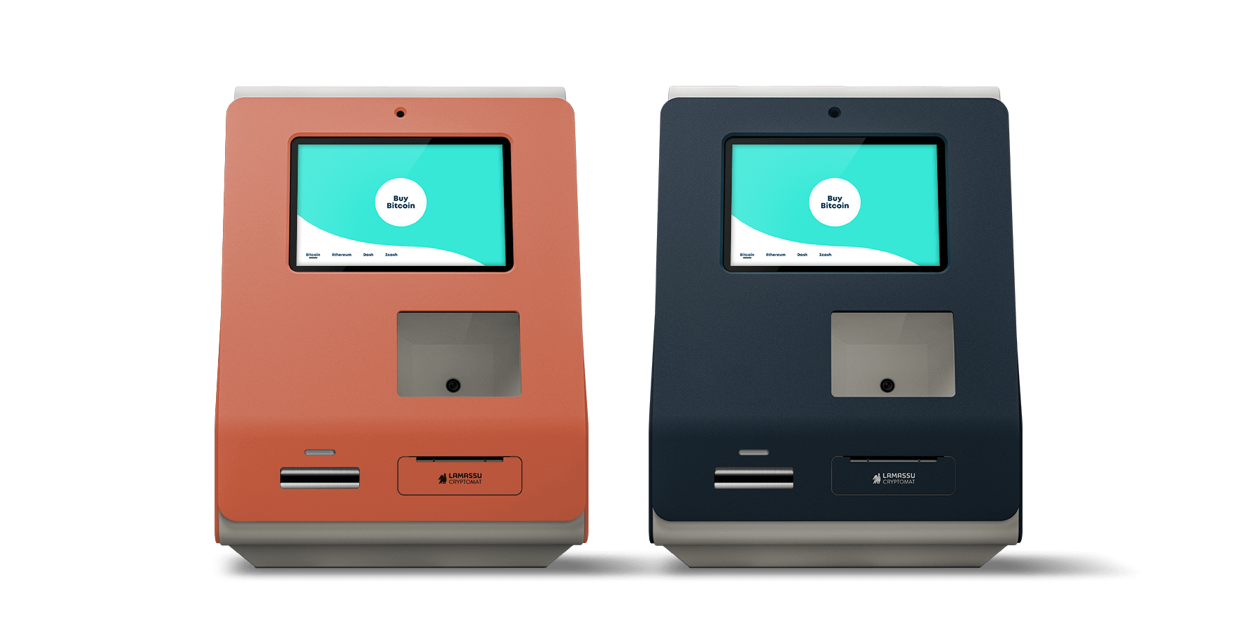 Lamassu Gaia: our Bitcoin ATM available in Midnight, Krill and Tradewind